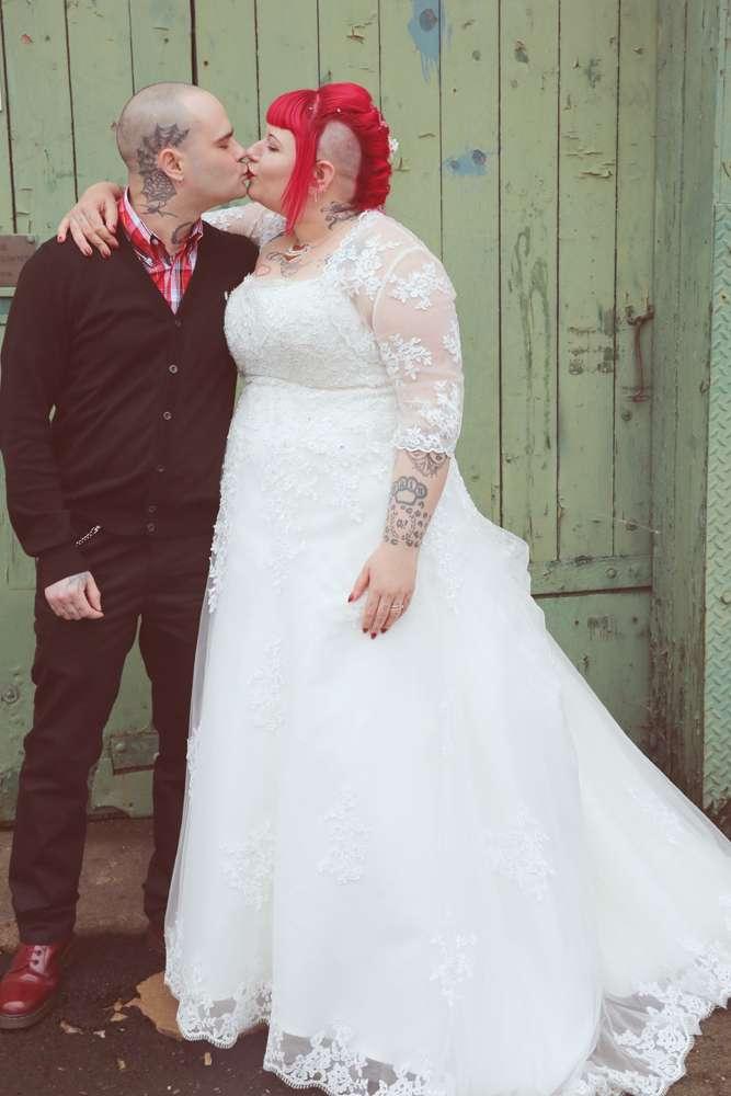 A Punk Rock Wedding Rock N Roll Bride
