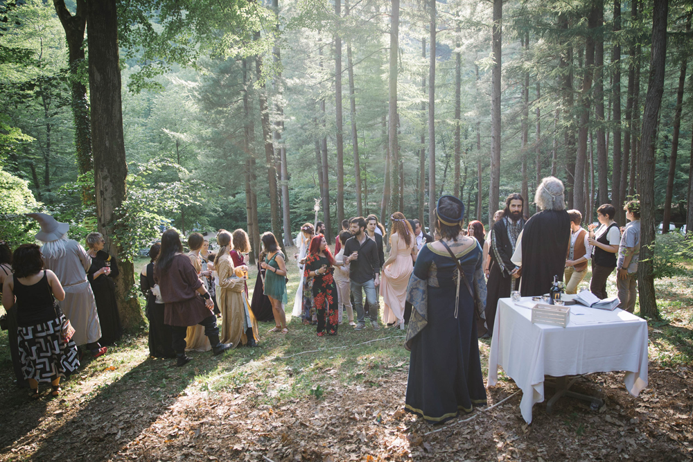 DIY Lord of the Rings Wedding in Italy Rock n Roll Bride