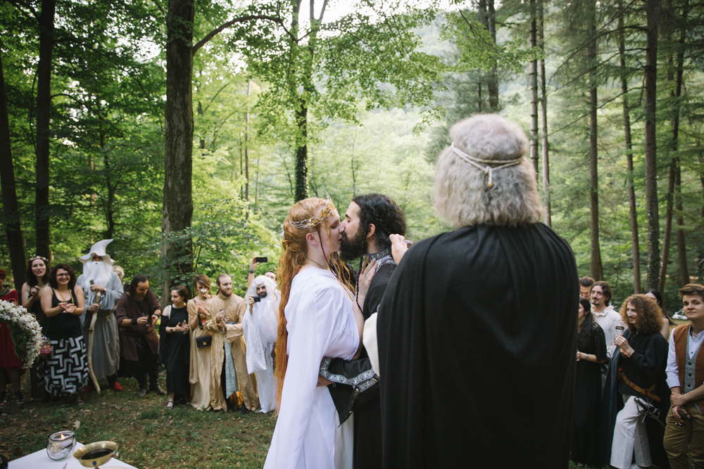 DIY Lord of the Rings Wedding in Italy Rock n Roll Bride
