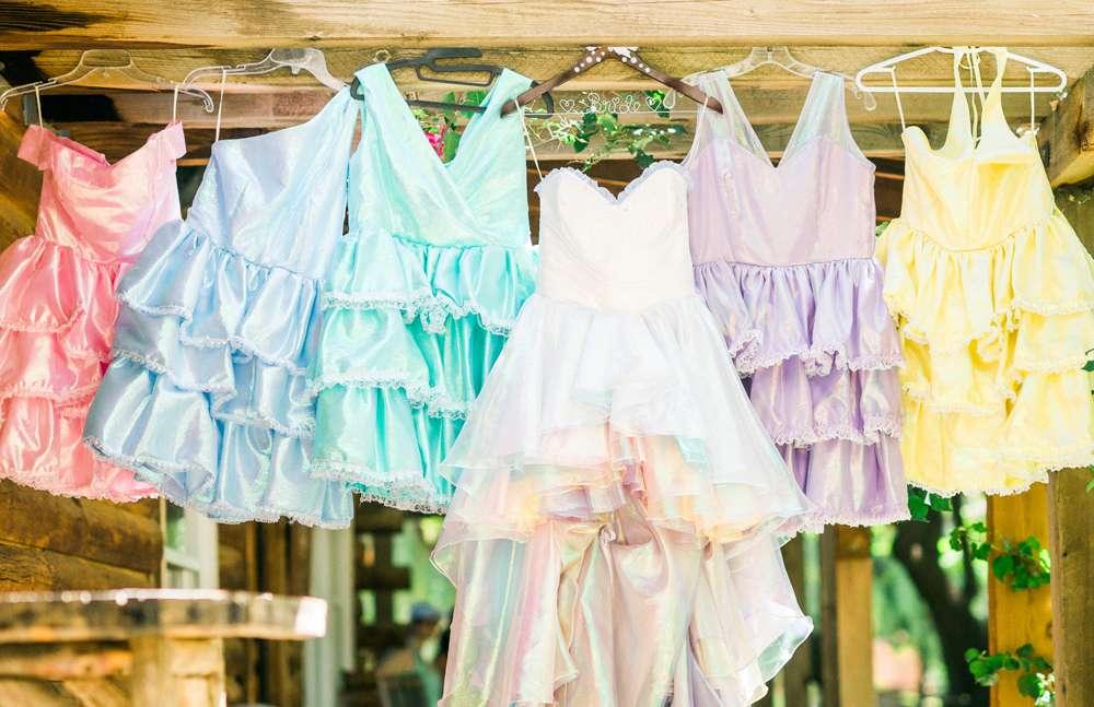 Kawaii Pastel And Disney Themed Wedding 2 Rock N Roll Bride