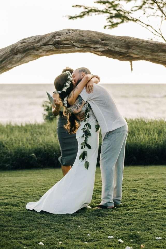 Maui Beach Wedding Rock N Roll Bride