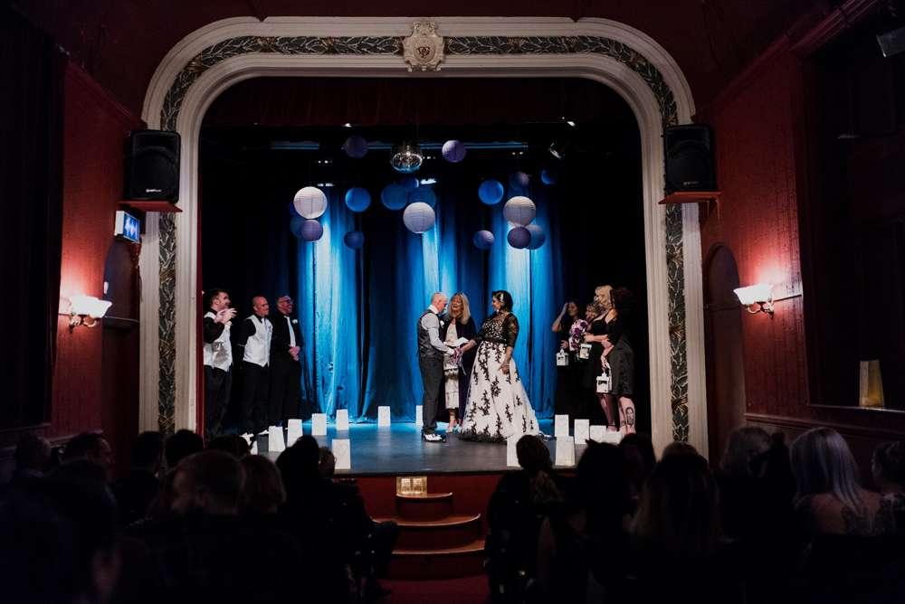 Gothic Glam Wedding for under £5000 · Rock n Roll Bride