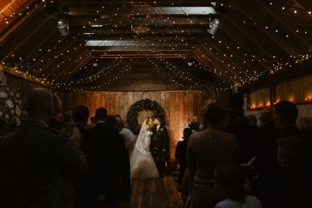 Festive scottish wedding inspired by christmas markets rock n roll they actually managed to save money on the decor not only by doing a lot it it themselves but because they were married in december solutioingenieria Images
