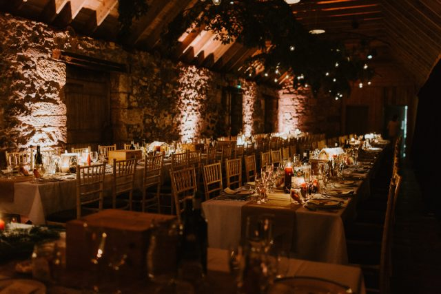 Festive scottish wedding inspired by christmas markets rock n roll we could have got it all from the venue or from other suppliers but that would have cost us more and i say if you can do it yourself then go for it solutioingenieria Choice Image