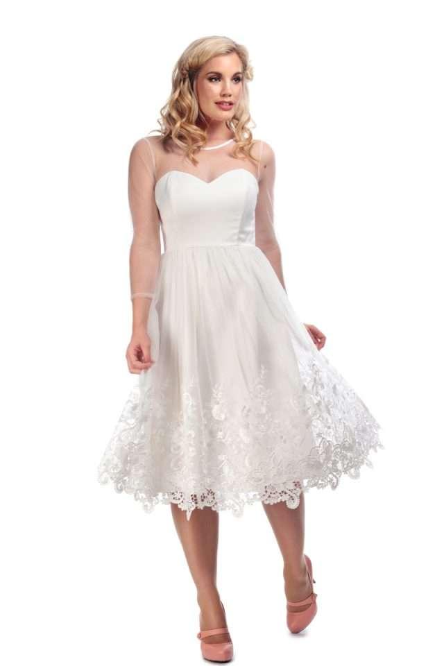 Alisa Bridal Swing Dress