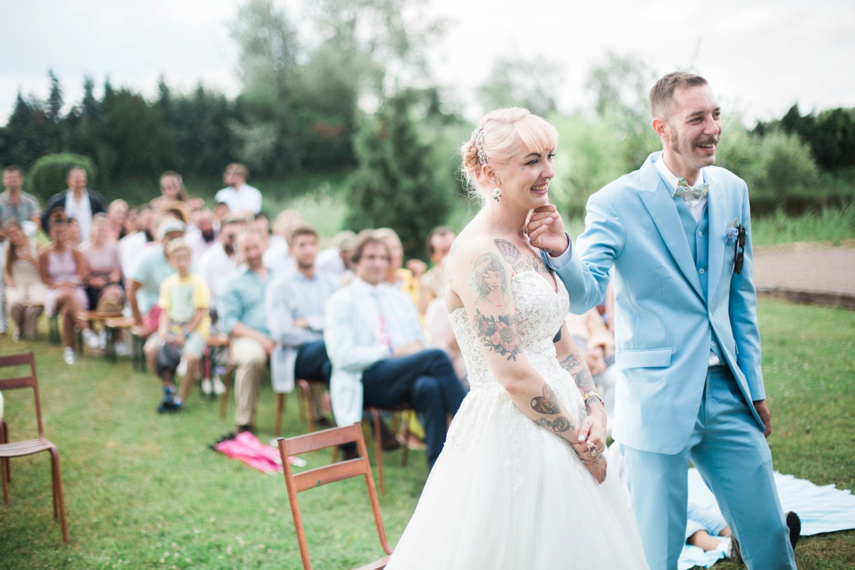 pagan amp pastels outdoor wedding in france 183 rock n roll bride