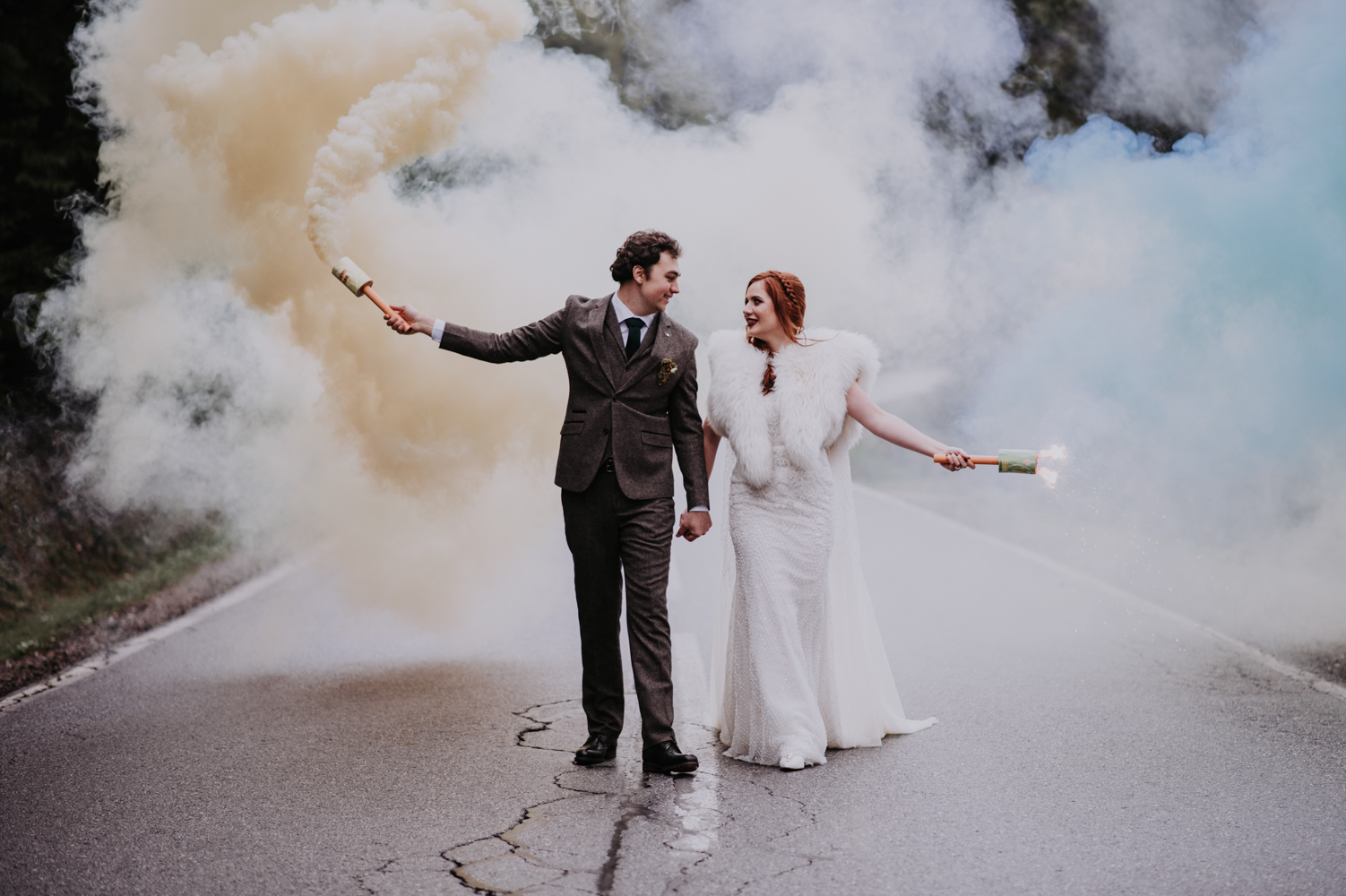 Magical \'Harry Potter in the Mountains\' Themed Romanian Wedding ...