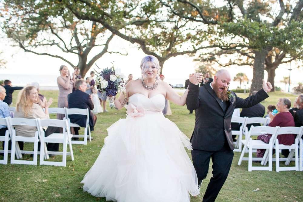 Mississippi Beach Wedding With A Vera Wang Dress And 1 Bridesmaid Dresses Rock N Roll Bride,Mermaid Most Popular Wedding Dresses