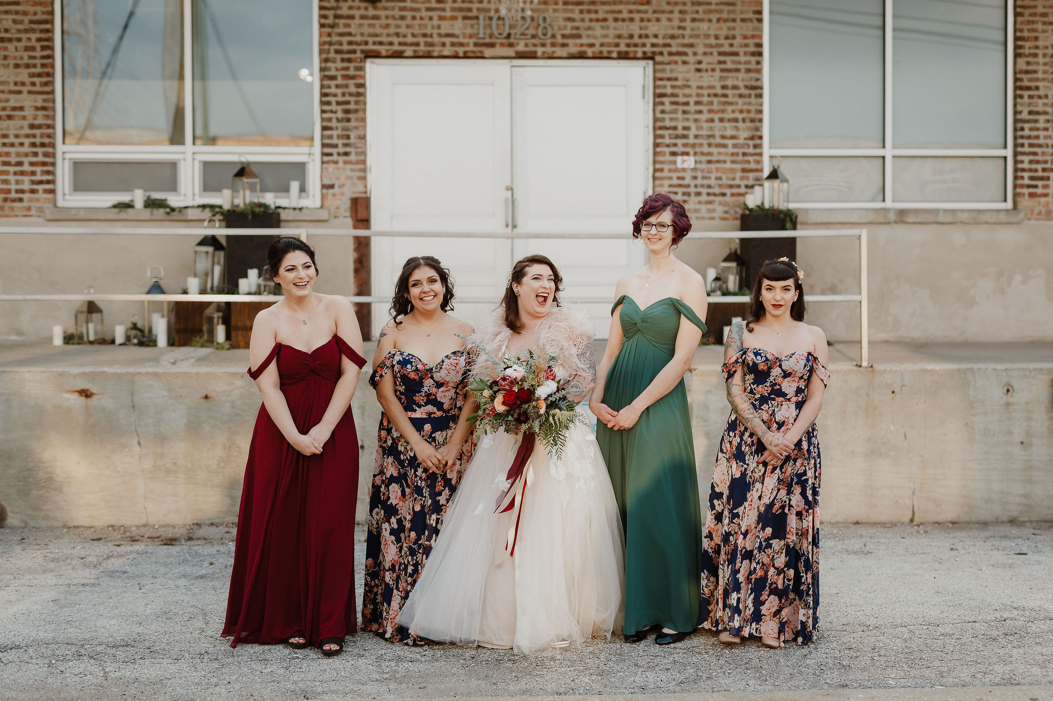 Rustic Yet Glam Midnight Garden Inspired Winter Wedding ...