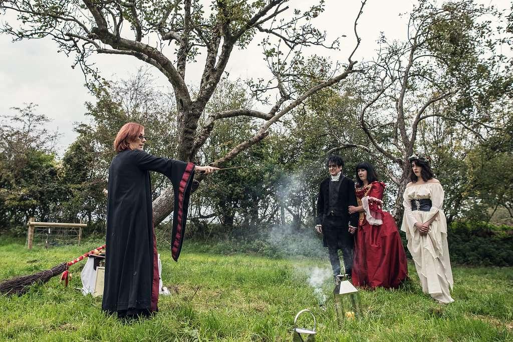 A Romantic Pagan Wedding in Glastonbury · Rock n Roll Bride