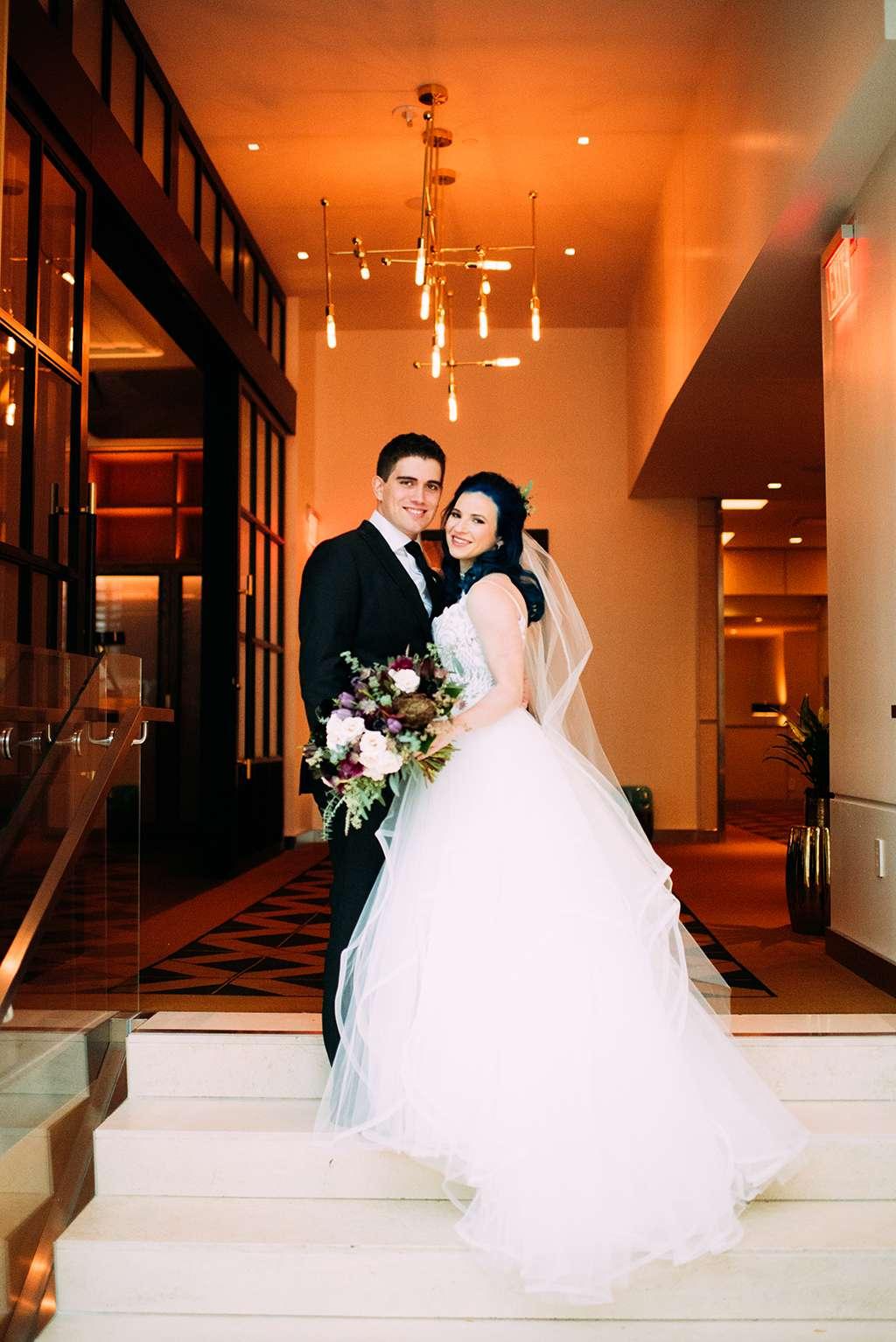 Punk Rock Princess The Ultimate Emo Inspired Wedding