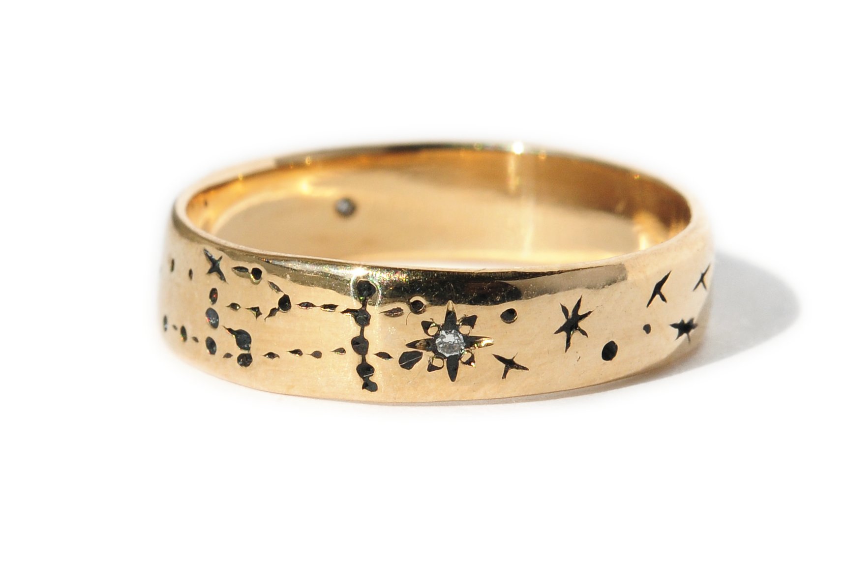 It is a graphic of Alternative Wedding Rings for the Ultimate Non-Traditional