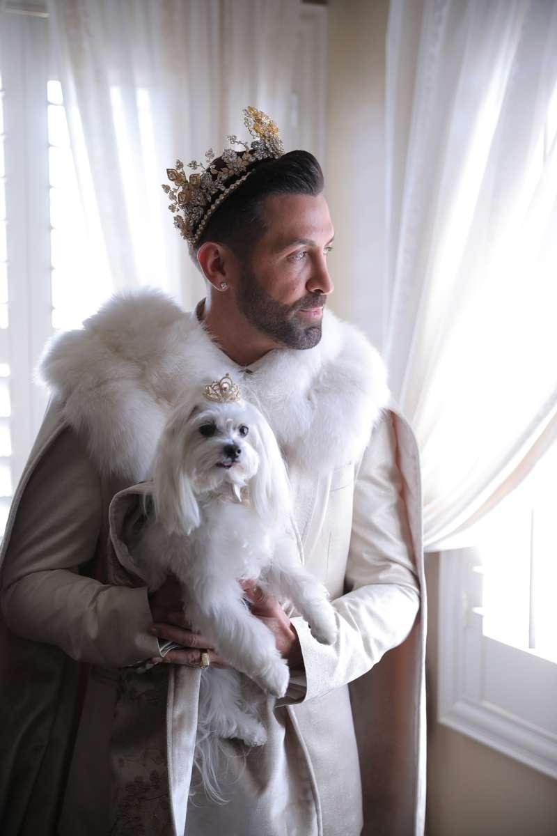 Gay royal 'The king