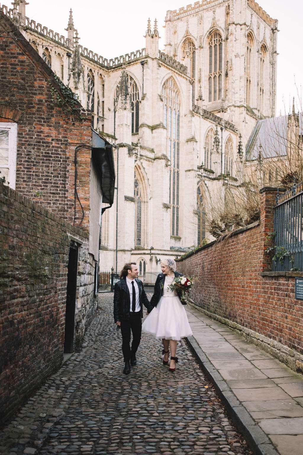 Celestial Wedding with Skulls, Fairy Lights & Lots of Leopard Print!